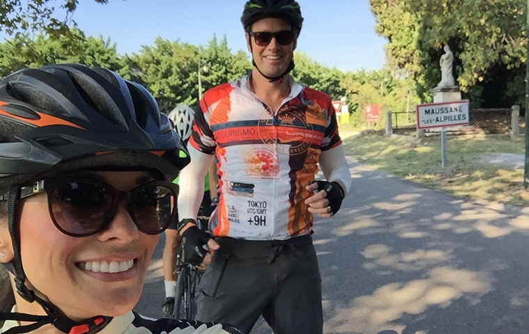 Carla Biking