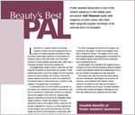 anti-aging and cosmetic surgery magazine article about power assisted liposuction